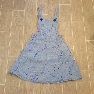 Modcloth Fervour Paint Splatter Skirt Jumper